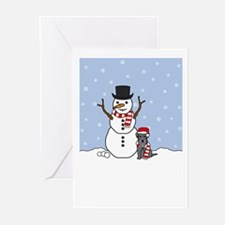 Mini Schnauzer Season's Greeting Cards (Pk of 20)