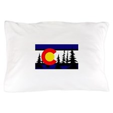 Colorado Trees2.png Pillow Case