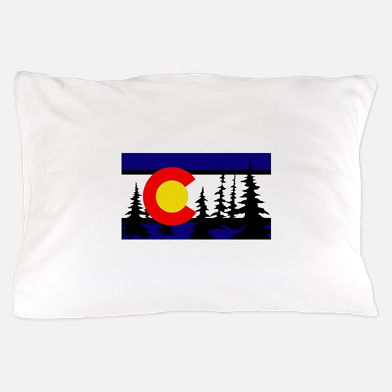 Colorado Trees2.png Pillow Case