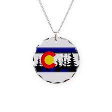 Colorado Trees2.png Necklace