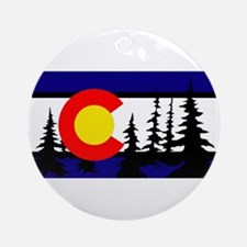 Colorado Trees2.png Ornament (Round)