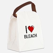 I Love Bleach Digitial Design Canvas Lunch Bag