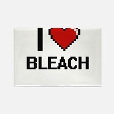 I Love Bleach Digitial Design Magnets