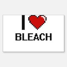 I Love Bleach Digitial Design Decal