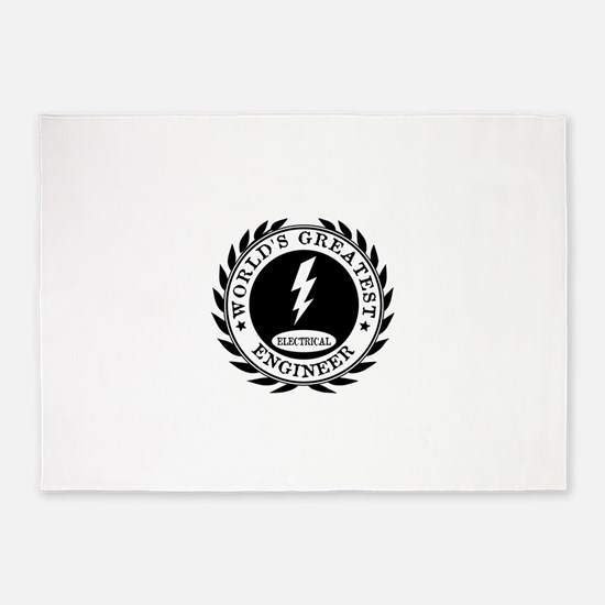World's Greatest Electrical Engineer 5'x7'Area Rug
