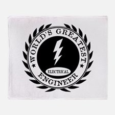 World's Greatest Electrical Engineer Throw Blanket
