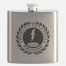 World's Greatest Electrical Engineer Flask