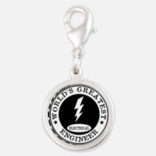 World's Greatest Electrical Engineer Charms