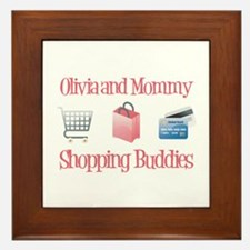 Olivia - Shopping Buddies Framed Tile