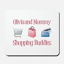 Olivia - Shopping Buddies Mousepad