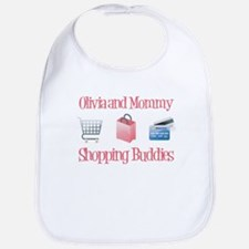 Olivia - Shopping Buddies Bib