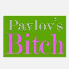 Pavlov's Bitch Postcards (Package of 8)