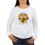 Bairros Family Crest Women's Long Sleeve T-Shirt