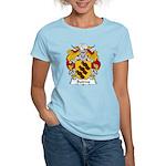 Bairros Family Crest Women's Light T-Shirt