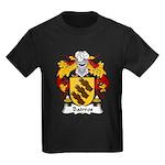 Bairros Family Crest Kids Dark T-Shirt