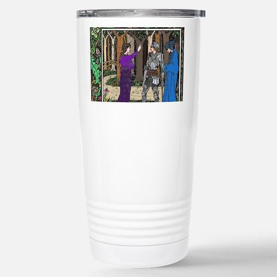 Lady of the Lake Stainless Steel Travel Mug
