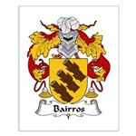 Bairros Family Crest Small Poster