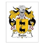 Baiao Family Crest Small Poster