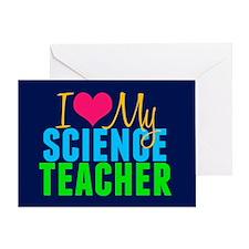 Science Teacher Greeting Card
