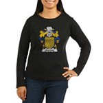 Azeredo Family Crest Women's Long Sleeve Dark T-Sh