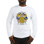 Azeredo Family Crest Long Sleeve T-Shirt