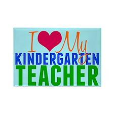 Kindergarten Teacher Rectangle Magnet