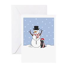 Howling Good Holiday Greeting Card
