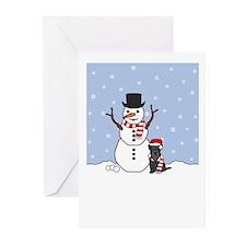 Mini Schnauzer Season's Greeting Cards (Pk of 20)