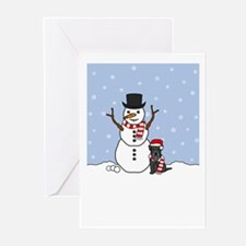 Mini Schnauzer Holiday Greeting Cards (Pk of 20)