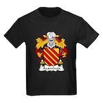 Azambuja Family Crest  Kids Dark T-Shirt