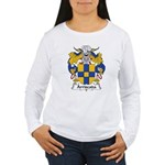 Arriscada Family Crest Women's Long Sleeve T-Shirt