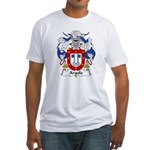 Argolo Family Crest Fitted T-Shirt