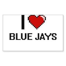 I Love Blue Jays Digitial Design Decal
