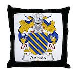 Anhaia Family Crest Throw Pillow