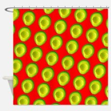 Avocado Fiesta for Hector Shower Curtain
