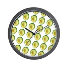 Avocado Frenzy George's Fave Wall Clock