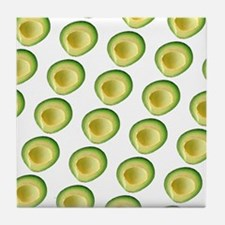 Avocado Frenzy George's Fave Tile Coaster