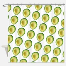 Avocado Frenzy George's Fave Shower Curtain