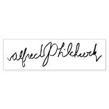 Alfred Hitchcock Bumper Bumper Sticker
