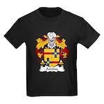 Ambia Family Crest  Kids Dark T-Shirt