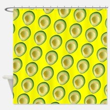 Avocado Sunrise Avery's Fave Shower Curtain