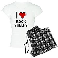 I Love Book Shelfs Digitial Pajamas