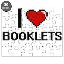 I Love Booklets Digitial Design Puzzle