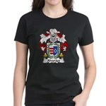 Alvaraes Family Crest Women's Dark T-Shirt