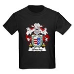 Alvaraes Family Crest Kids Dark T-Shirt