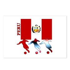 Peru Soccer Postcards (Package of 8)
