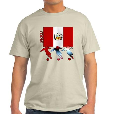 Peru Soccer Light T-Shirt