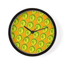 Delish Avocado Delia's Fave Wall Clock