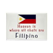 Filipino Chefs Rectangle Magnet