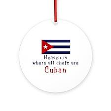 Cuban Chefs Keepsake Ornament